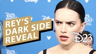 Star Wars: The Rise of Skywalker Cast Explain Dark Side Rey Reveal - D23 2019