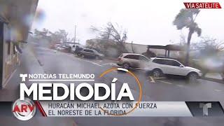 Destrozos en Panama City, FL tras el paso del huracán Michael | Noticiero | Telemundo