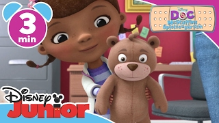 Teddy piekst - Doc McStuffins | Disney Junior Kurzgeschichten