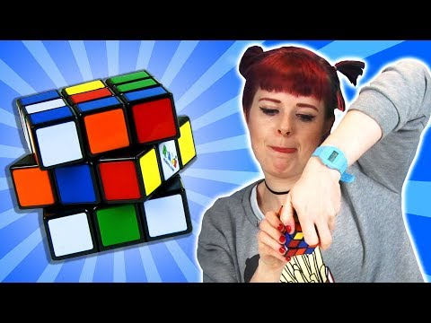 Drunk People Try Solve A Rubik's Cube