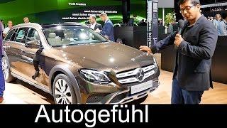 Mercedes E-Class All-terrain E-Klasse crossover Walkaround Exterior/Interior