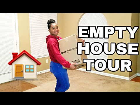 VLOGMAS DAY 5 | EMPTY HOUSE TOUR! My First Home (moving Out Of My Parents' House)