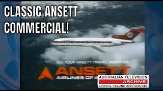 ANSETT AIRLINES - CLASSIC AUSTRALIAN TV COMMERCIAL