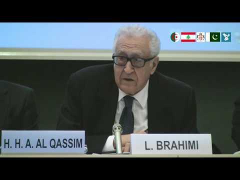 Speaker: Minister Lakhdar Brahimi