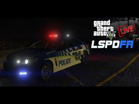 GTAV - LSPDFR LIVE!   Police Simulator   SAPOL   Traffic Services Patrol