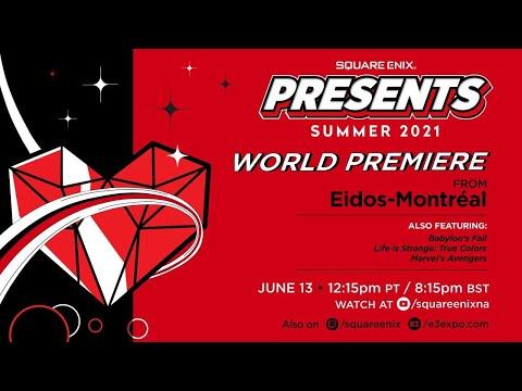 Square Enix Presents Summer Showcase | E3 2021
