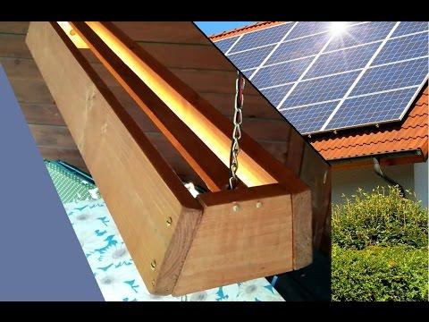 DIY Outdoor Solar Lamp