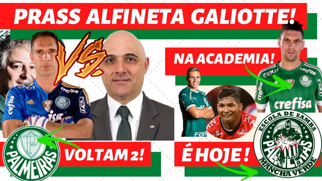 Palmeiras Hoje Prass Manda Recado A Galiotte Mois U00e9s Na