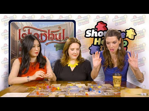 Istanbul Board Game Strategy Playthrough