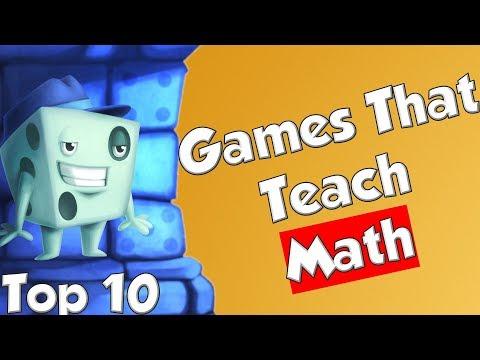 Top 10 Games That Teach Math