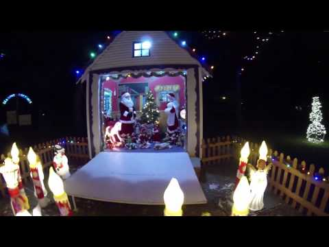 The Christmas Drone Over North Platte Nebraska