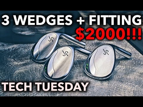 Three wedges with fitting...FOR $2000!! Tech Tuesday