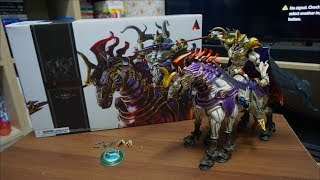 Final Fantasy Odin Summon Creature (Bring Arts Action Figure) - Unboxing