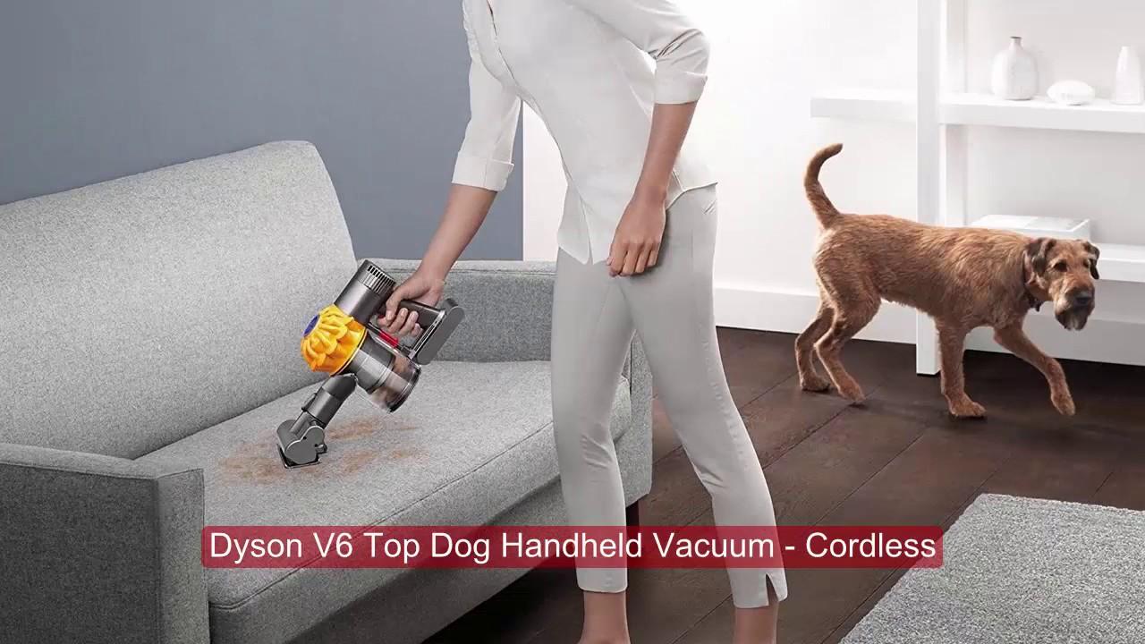 Dyson v6 top dog беспроводной пылесос дайсон цена