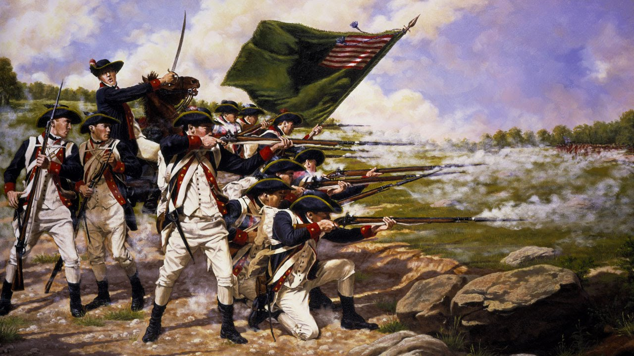 the history of federalism in america after the revolutionary war History of the united states events of the united states of america from the us civil war to us show support for the revolutionary war.