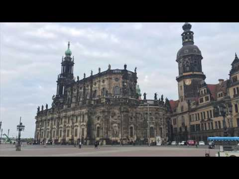 Die Schlosskirche in Dresden