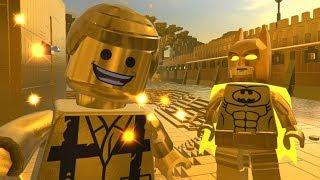 GOLDTROPOLIS Secret Level Free Roam - The Lego Movie 2 Videogame