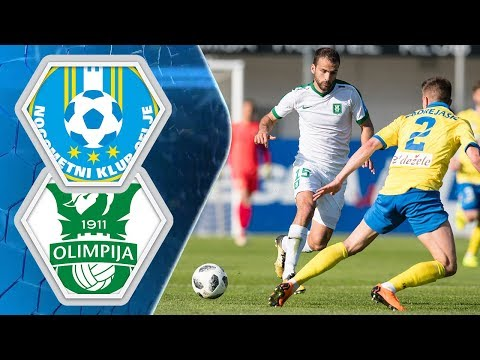 28. krog: Celje - Olimpija 1:1 ; Prva liga Telekom Slovenije 2017/2018