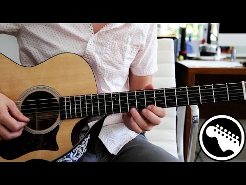 """How to Play """"Girl"""" by Beck on Acoustic Guitar"""