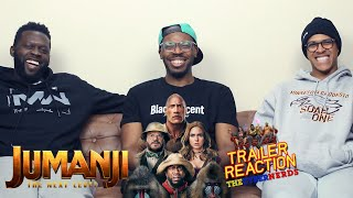 Jumanji The Next Level Final Trailer Reaction