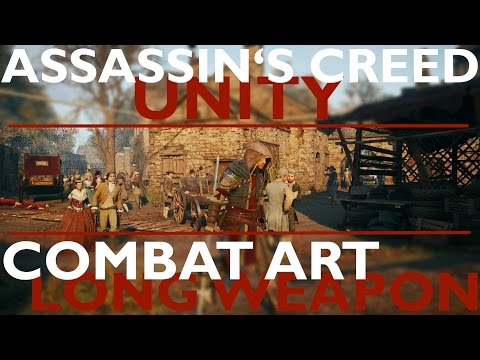 Assassin's Creed Unity combat art - Long weapon