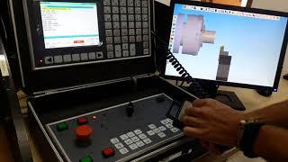 SSCNC Painel - Função MDI, JOG e Manivela eletrônica