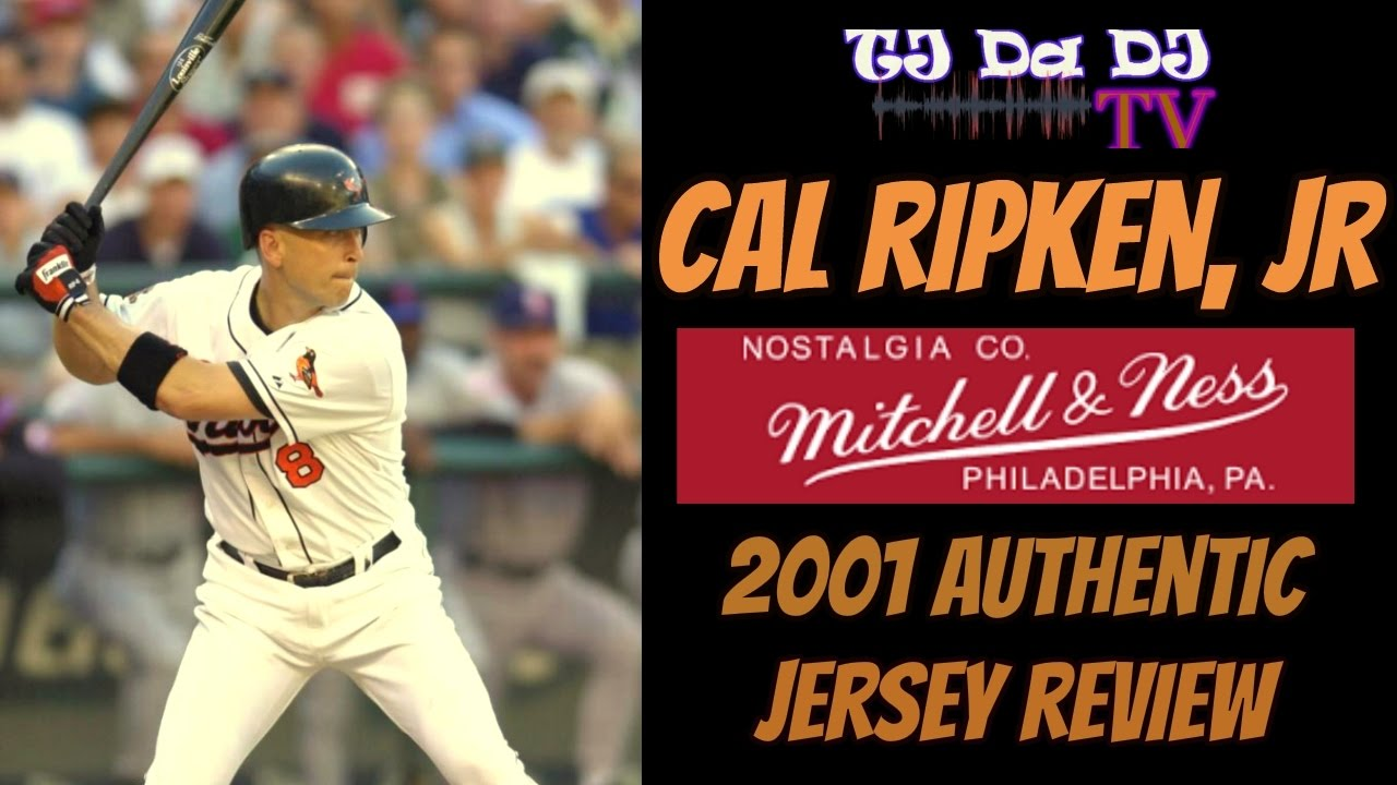342676f76 Mitchell & Ness 2001 Cal Ripken, Jr Authentic Baseball Jersey + Sizing  Review (TJ Da DJ TV)