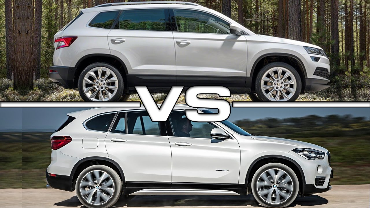 2018 Skoda Karoq Vs 2016 Bmw X1 Youtube