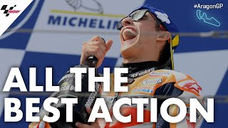 All of the Best Action   2019 #AragonGP