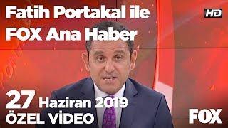 İmamoğlu 70 gün sonra yeniden makamında! 27 Haziran 2019 Fatih Portakal ile FOX Ana Haber