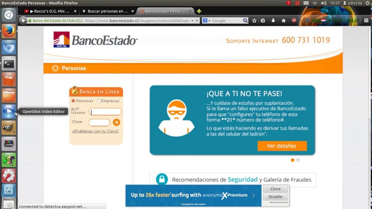 Bancoestado cuenta rut en línea