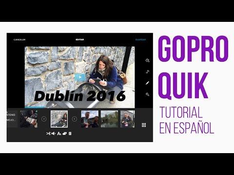 GoPro Quik app de edición - Tutorial en español