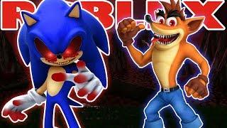 ROBLOX - France Sonic ou Crash ?? Spoopy
