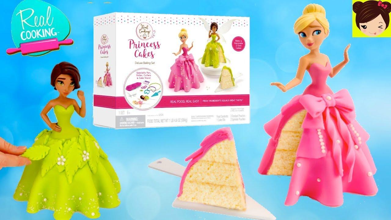 Juego Para Hacer Pastel De Princesa Con Vestido Reposteria Para Niños