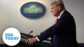 Cover images President Trump and task force provide updates on coronavirus pandemic (LIVE) | USA TODAY