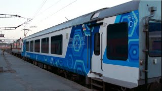Integral Coach Factory - ICF - Stages of Furnishing of Luxurious LHB Vistadome Coach by ICF