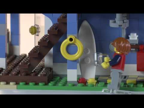 Seaside House 3in1 Surfing Fun - LEGO Creator - Designer Tips
