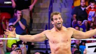 Raw - Zack Ryder woo-woo-woos the WWE Universe