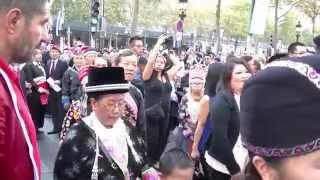 Hmong aux champs Elysées le 19. 10. 2014