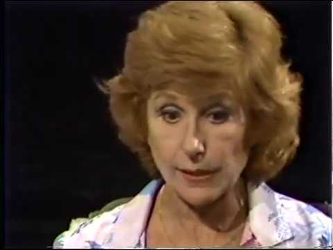 Fay DeWitt, Jackie Mason--Rare 1986 TV Interview