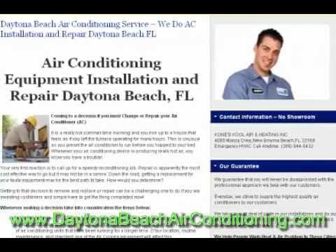AC Repair New Smyrna Beach FL - Air Conditioning