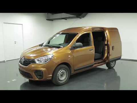 El Diseño y la Fabricación del Nuevo Renault KANGOO.