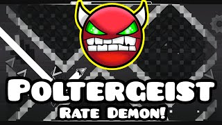 MY DEMON LEVEL! Poltergeist - by Andromeda [Geometry Dash]