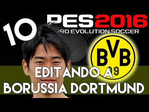PES 2016 | Abilities And Face Stats Of Shinji Kagawa | Editando A Borussia Dortmund #10 | PS4.