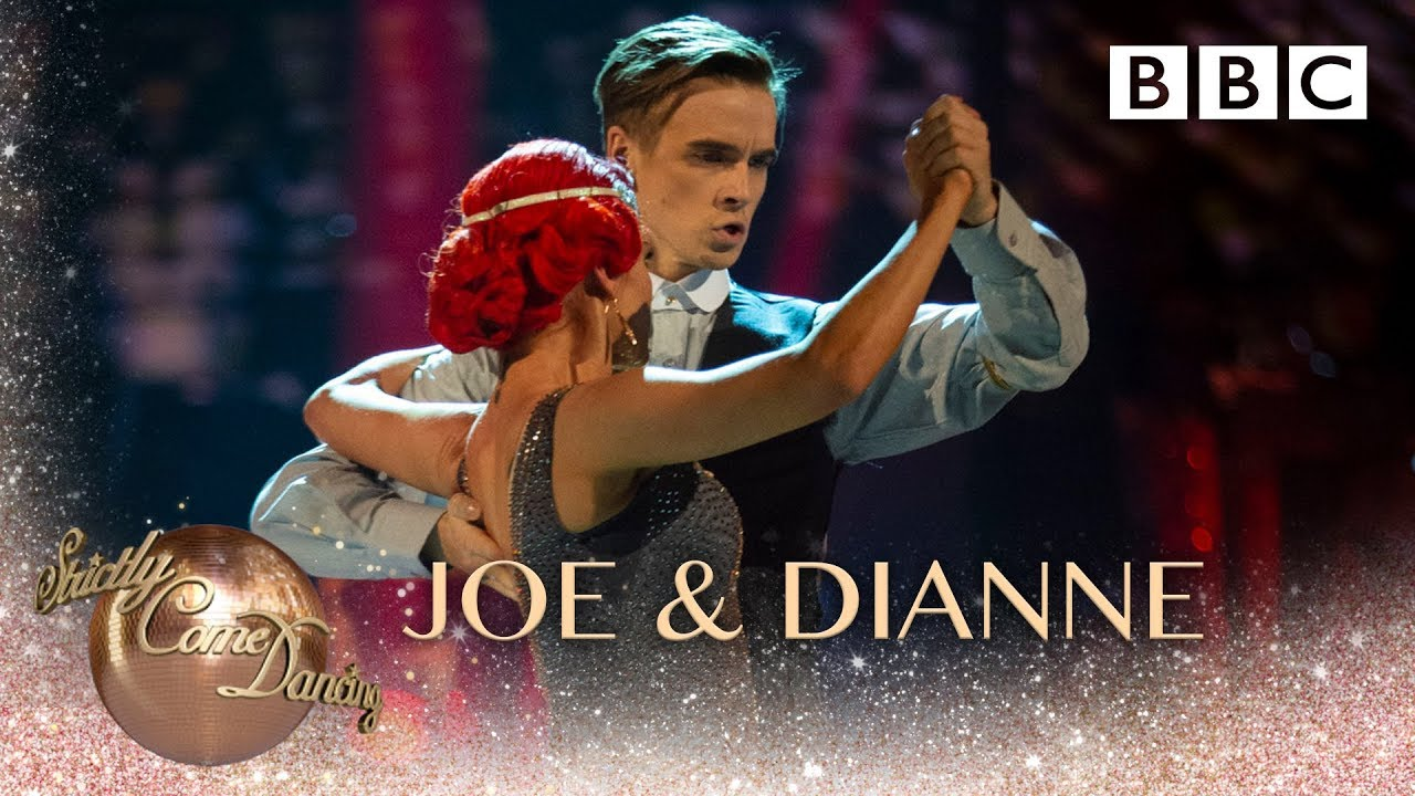 Joe Sugg & Dianne Buswell Argentine Tango to 'Red Right Hand' by Nick Cave - BBC Strictly 2018