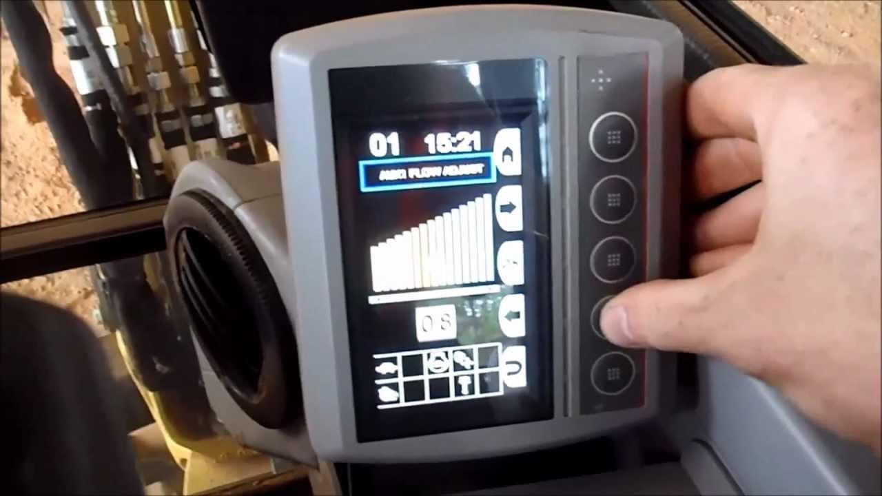 Cat 304e Compass Digital Display Panel Walk Through Youtube
