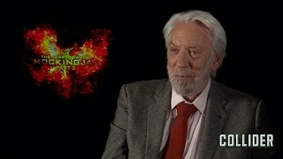 Donald Sutherland On 'The Hunger Games: Mockingjay – Part 2' And Working With Francis Lawrence