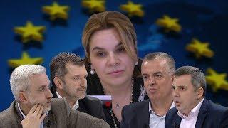 Ndërkombëtarët dhe radikalizimi i opozitës, debat mes Kryemadhit dhe analistëve - (28.02.2019)