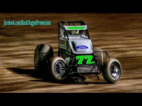 USAC Non Wing SprintCar Main At Canyon Speedway Park May 28th 2016