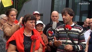 Friedensfahrt Berlin - Moskau, Tag 13: Die Fahrt von Smolensk nach Minsk (19.08.2016)